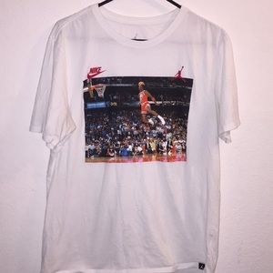 Nike Air Jordan 3:51 White T-shirt Size Large
